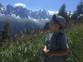 Als peus del Mont Blanc